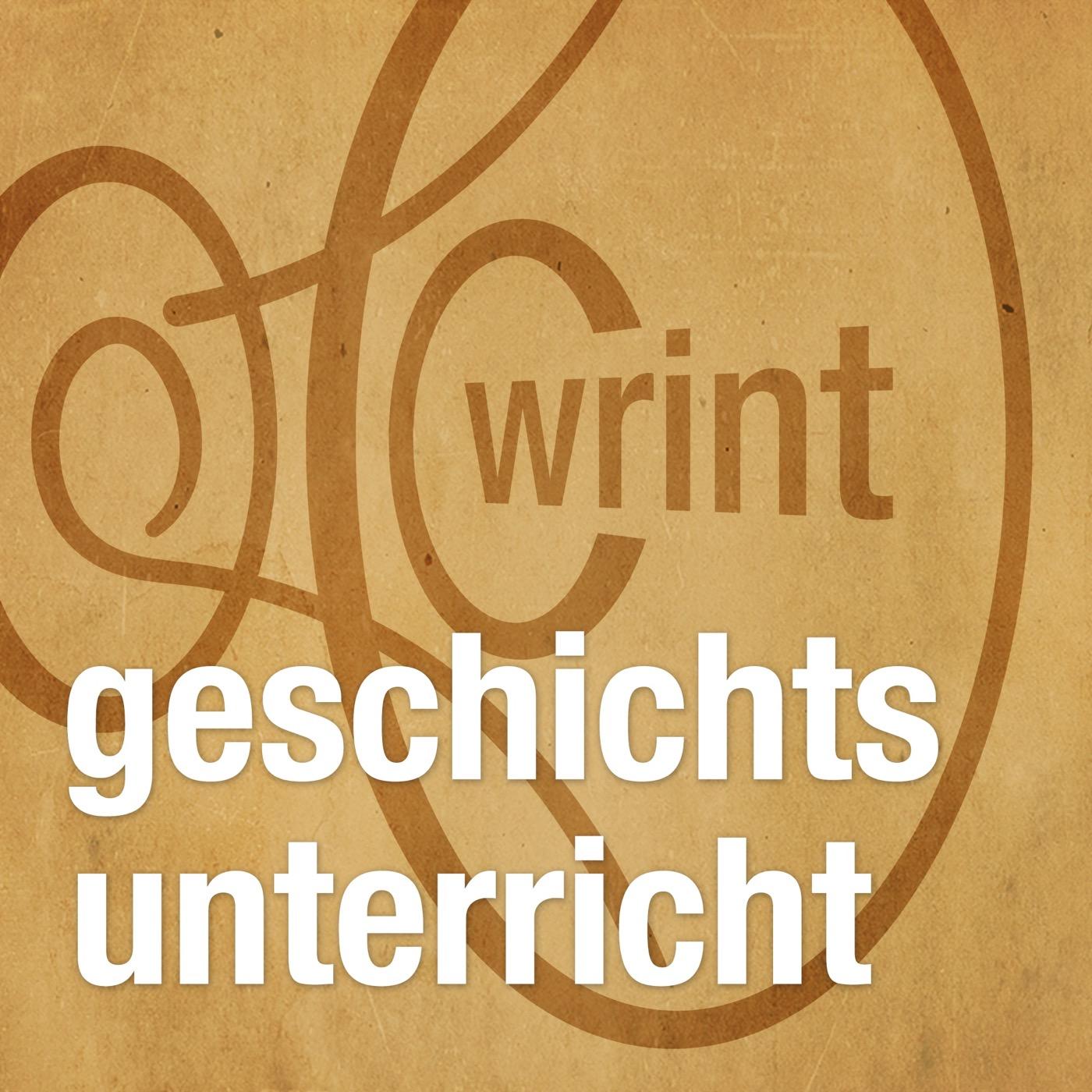 WRINT: Geschichtsunterricht